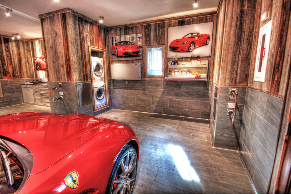 campbell air compressor Garage And Shed Rustic with barn wood built-in car wash car posters dream garage dryer fantasy garage