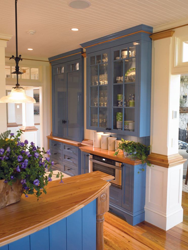 Canisters Sets Kitchen Traditional with Architectural Millwork Beadboard Blue Cabinets Blue Finish Canister Set Casework Ceiling Lighting