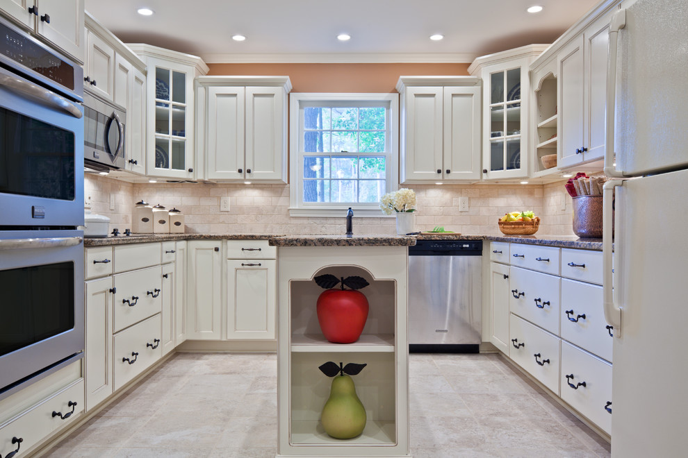 Canisters Sets Kitchen Traditional with Canister Sets Ceiling Lighting Corner Cabinets Crown Molding Double Ovens Glass Front