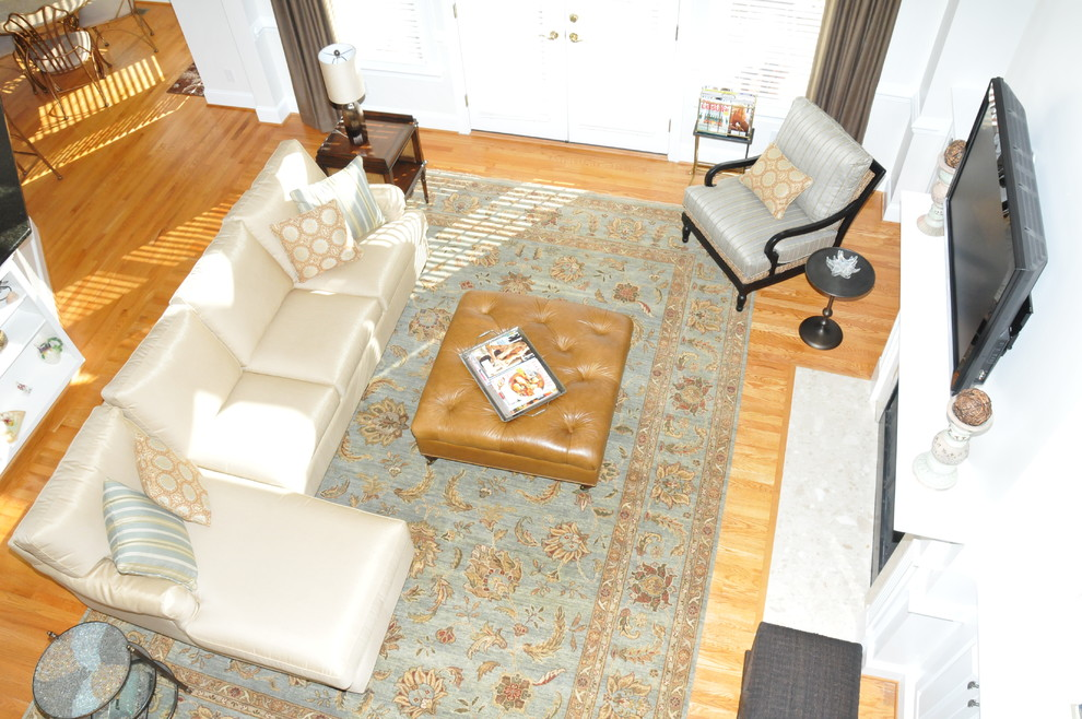 Capel Rugs Family Room Traditional with None