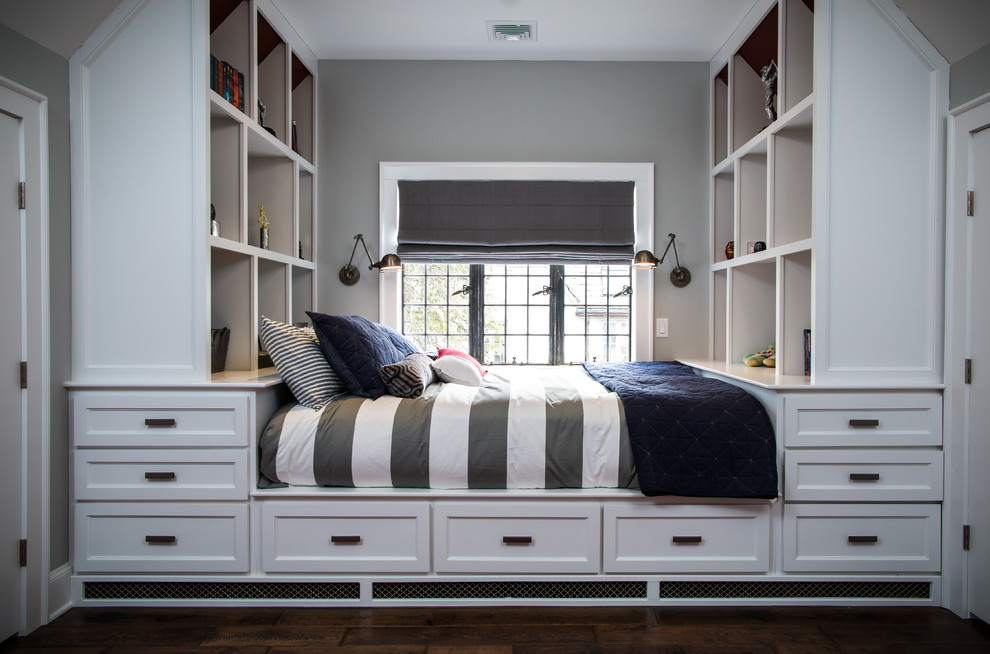 Captains Beds Kids Transitional with Attic Baseball Theme Bed with Storage Bergen County Boys Room Captains Bed