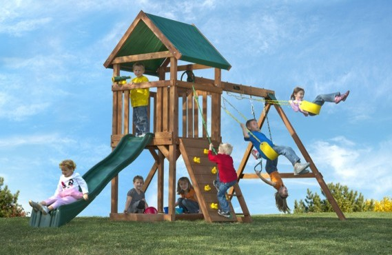 Cedar Swing Sets Kids Craftsman with Backyard Playsets Kidscreations Outdoor Playsets Outdoor Swingsets Playsets Sandbox Slides Swing Sets