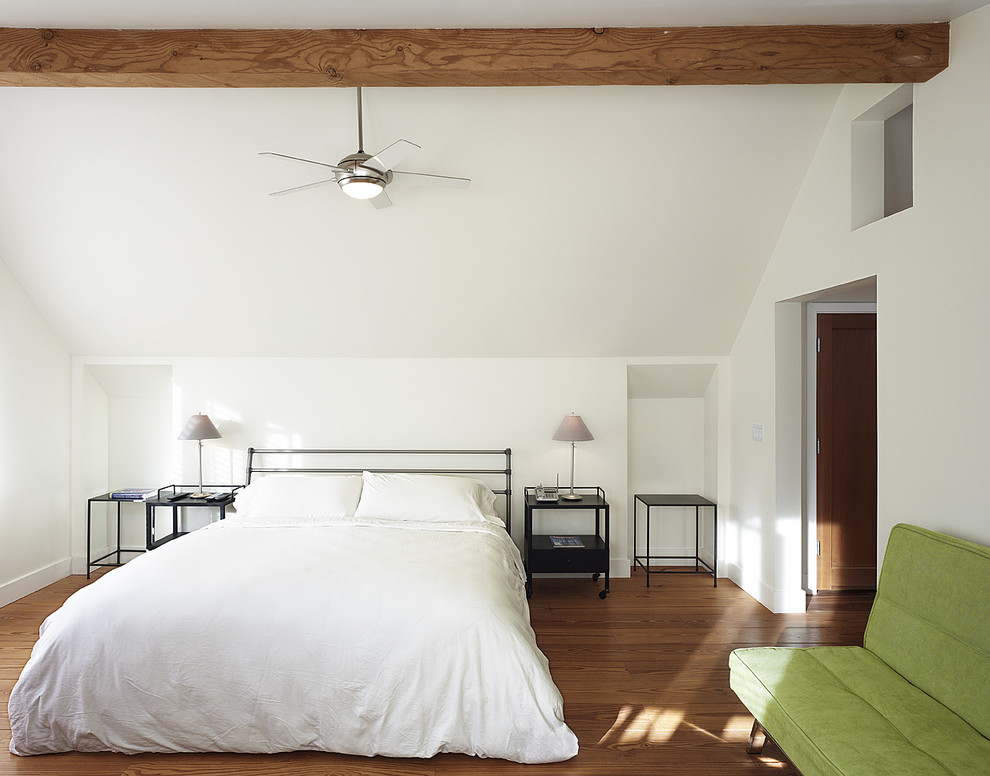 ceiling fan light covers Bedroom Contemporary with alcove bedside table ceiling fan CEILING LIGHT exposed beams futon green sofa