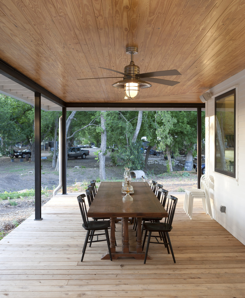 Ceiling Fan Light Covers Porch Farmhouse with Ceiling Fan Covered Porch Deck Eaves Open Porch Outdoor Dining Outdoor Lighting