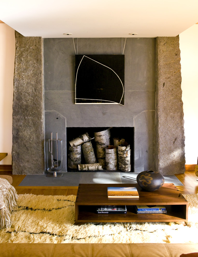 Ceramic Fireplace Logs Living Room Modern with Earth Tone Colors Fireplace Accessories Fireplace Surround Neutral Colors Shag Rug Wall