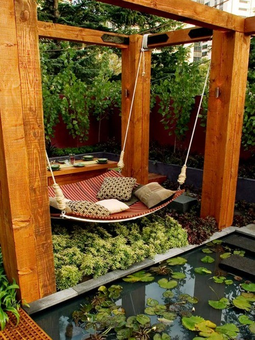 Chair Hammock Patio with None
