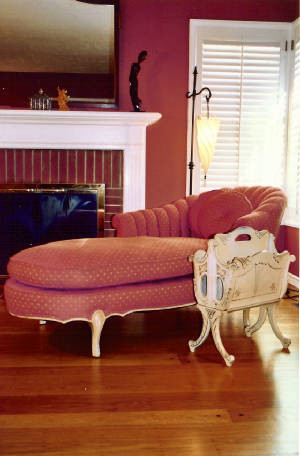 Chaise Lounge Chair Living Room Traditional with Chaise Fireplace Magazine Stand Window Window Treatment Wood Floor
