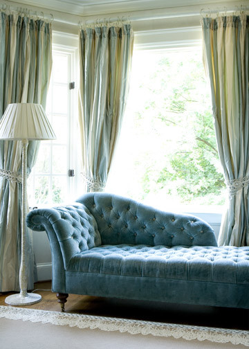 chaise lounges Bedroom Traditional with canopy