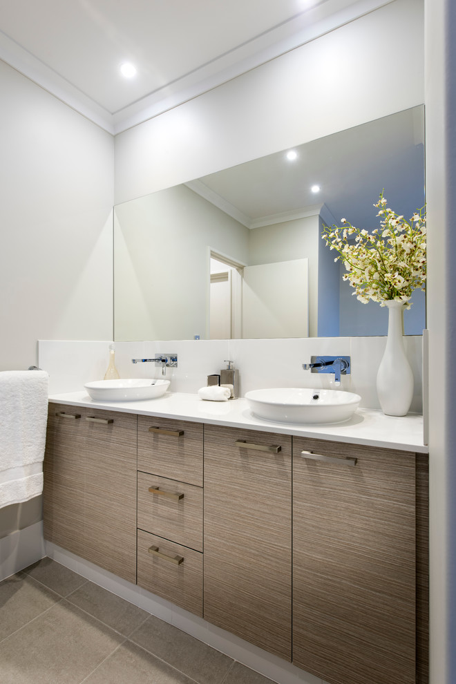 Cheap Bathroom Vanities Bathroom Contemporary with Luxury Natural Scheme Simple Tranquil White