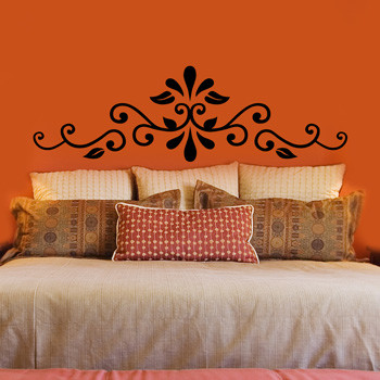 cheap headboards Bedroom Eclectic with none