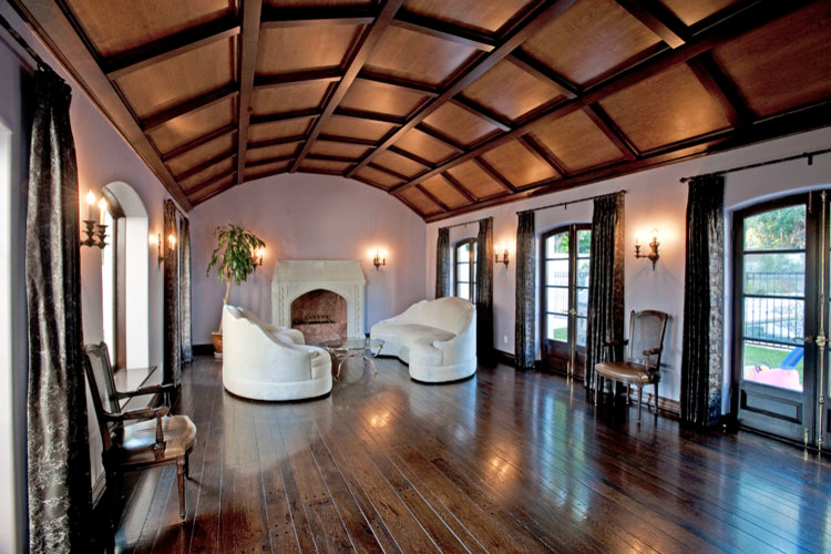 Cheap Leather Sofas Living Room Traditional with Cabinets Coffered Ceiling Kitchen Remodel