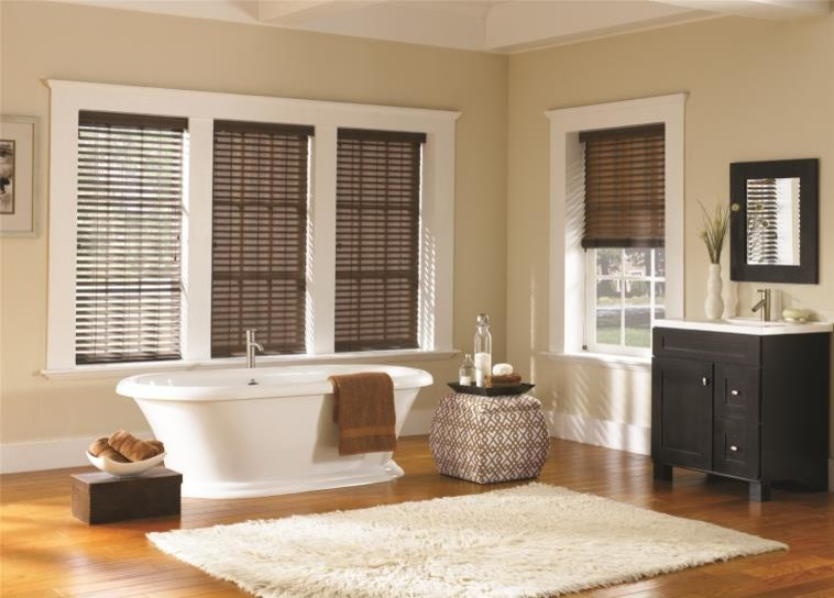 Cheetah Print Bedding Bathroom Traditional with Bathroom Blinds Blinds Curtains Drapery Drapes Roman Shades Shades Shutter Window Blinds