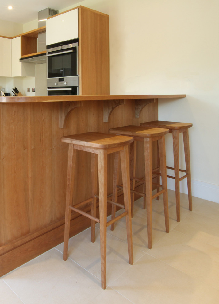 Cherry Dresser Spaces Contemporary with Bespoke Cherry Dresser Cherry Wood Custom Bar Stools Kitchen Solid Cherry Counter