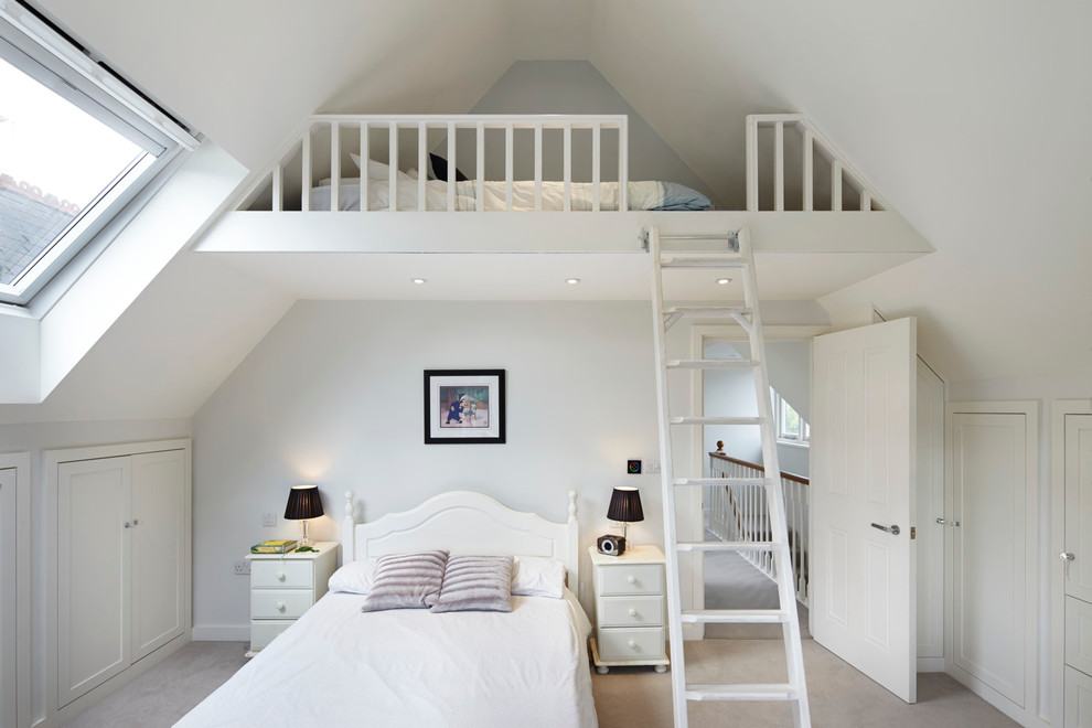 Childrens Loft Beds Bedroom Traditional with 7 Year Old Boys Bedroom Attic Bedroom Bedroom Ideas for Teen Boys