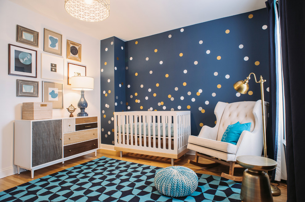 Childrens Wall Decals Nursery Transitional with Antique Prints Area Rug Baby Room Boys Nursery Boys Room Childrens Decor