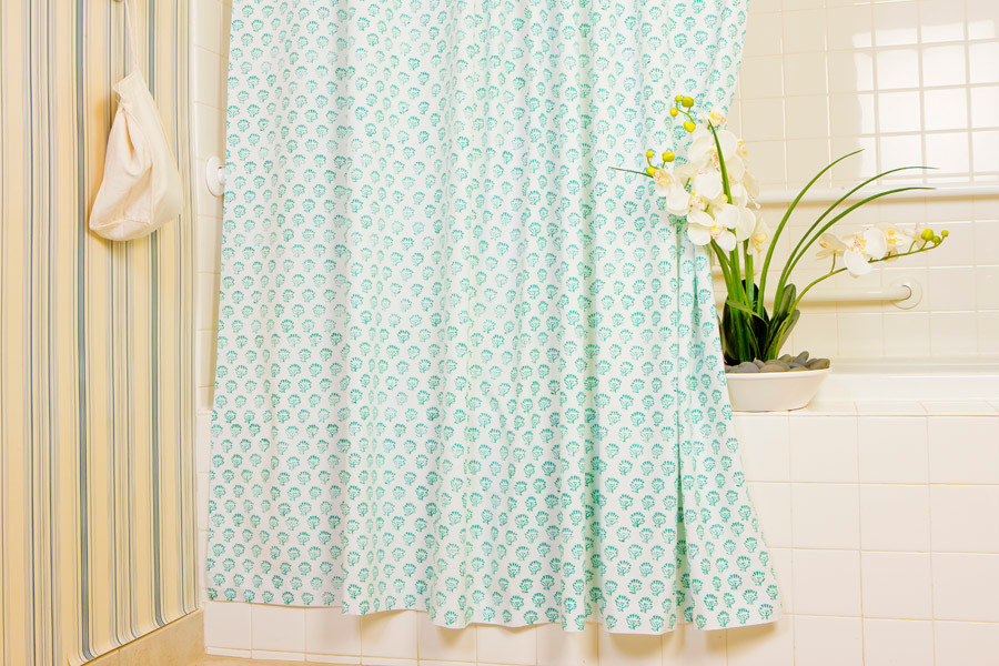Cloth Shower Curtains Spaces with Cloth Shower Curtains Ocean Shower Curtain Hand Block Pr Cottage