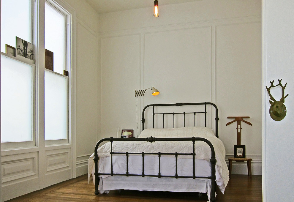 Clothes Valet Bedroom Eclectic with Brass Bed Clothes Valet Minimal Wall Molding