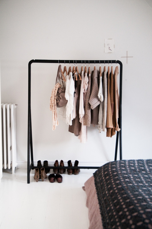 Clothes Valet Bedroom Eclectic with None
