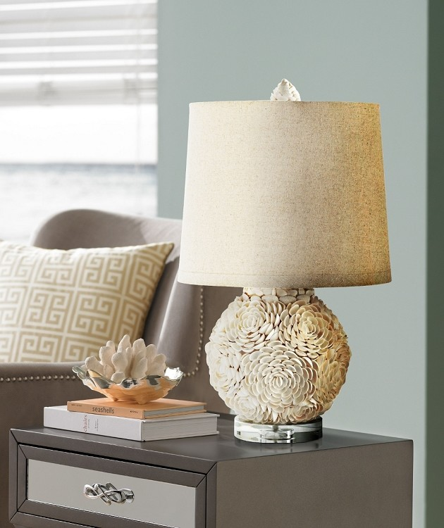 Coastal Lamps Living Room Beach with Beach Beach Home Table Lamp Beach House Beach Style Beachy Beachy Lighting