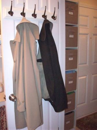 Coat Hook Rack Entry Traditional with None
