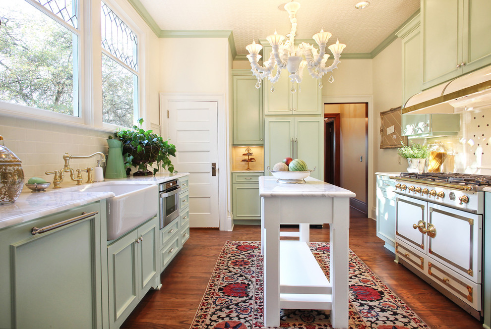 colorful area rugs Kitchen Victorian with Benjamin Moore Brass Faucet Concetto Coutnertops country kitchen Custom Cabinets farm sink