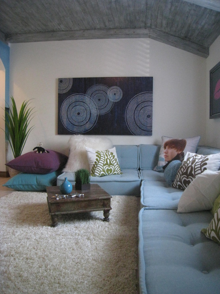 comforters for teens Kids Contemporary with aqua area rug artwork blue seat cushions Dna11 artwork floor cushions Justin
