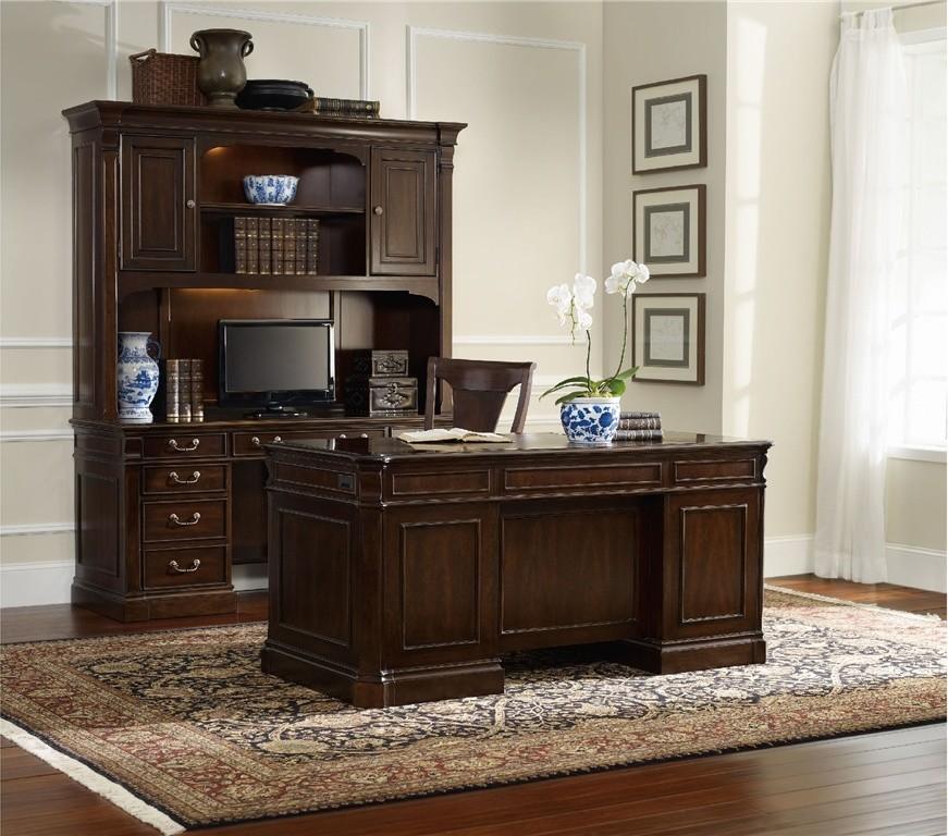 Computer Desk with Hutch Home Office Traditional with Computer Credenza Computer Desk Desk Desk Chair Executive Desk Home Office Hutch