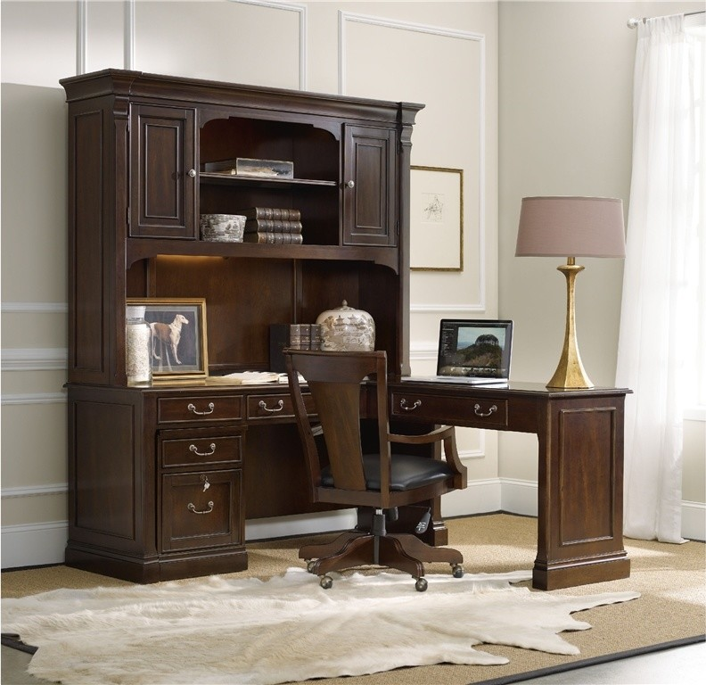 Computer-desk-with-hutch-Home-Office-Traditional-with-desk