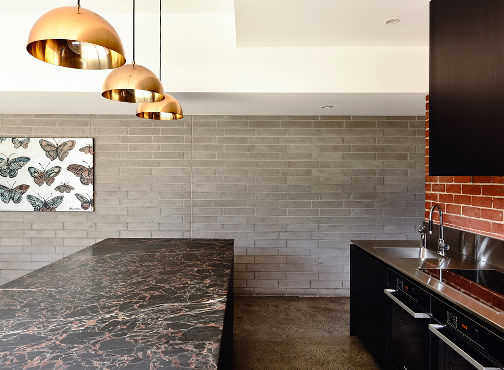 Copper Pendant Light Kitchen Contemporary with Categorykitchenstylecontemporarylocationother Metro