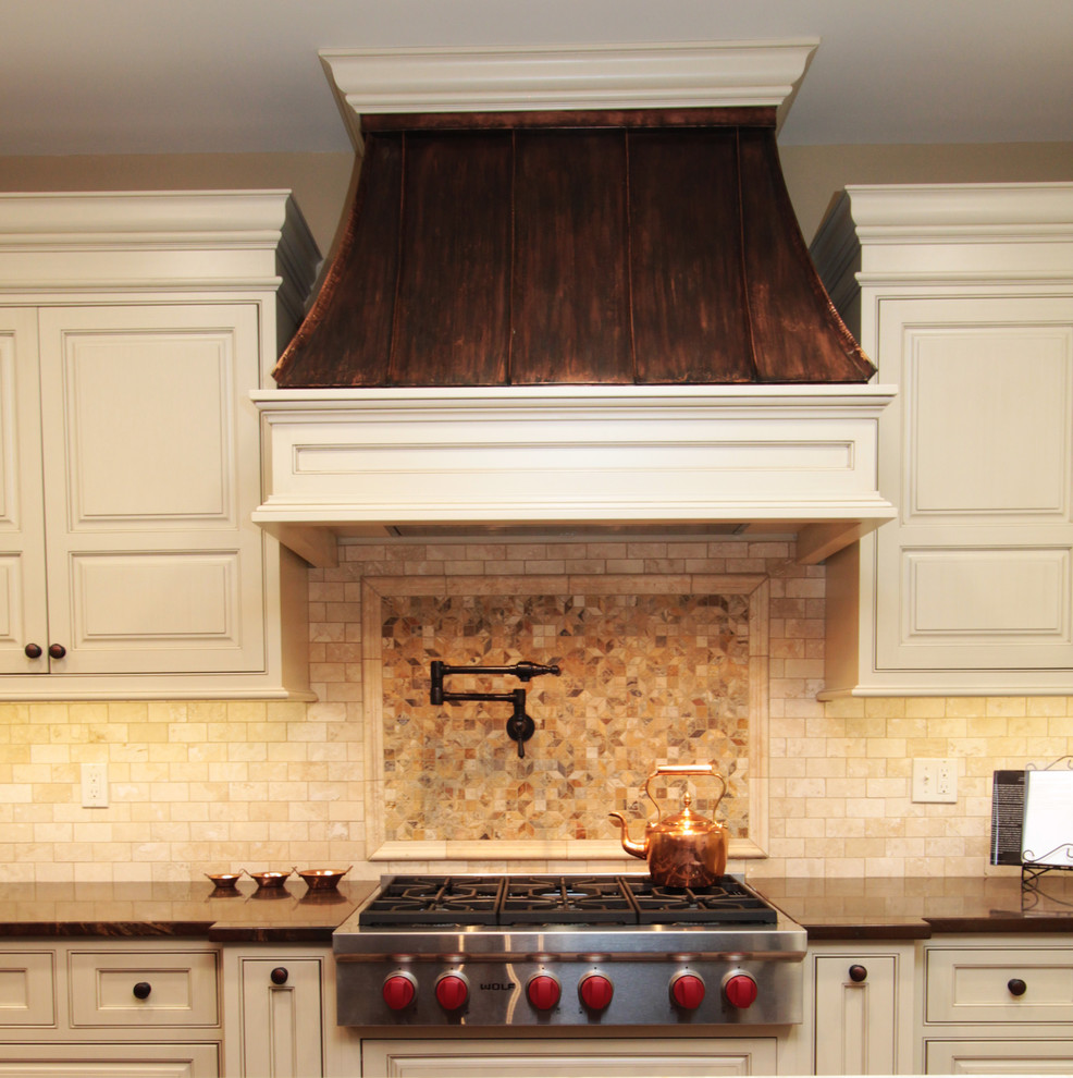 copper range hood Kitchen Traditional with CategoryKitchenStyleTraditionalLocationChicago