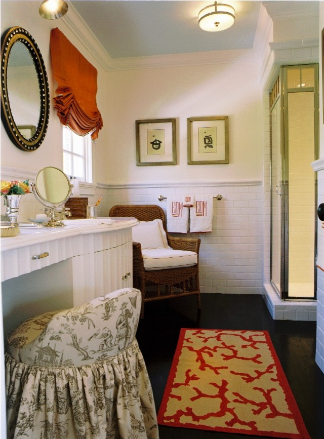 Coral Rugs Bathroom with Bathroom House Beautiful Master Bathroom Showcase House