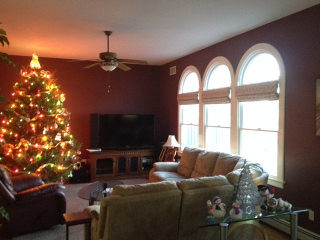 Cordless Roman Shades Spaces Contemporary with Christmas Christmas Tree Cordless Fabric Roman Shades Light Filtering Liner Roman Shades