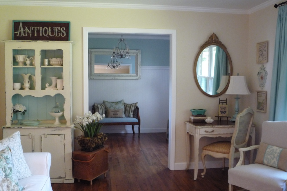 Corner Desk With Hutch Living Room Shabby Chic With Aqua Cottage Shabby  Chic Turquoise Vintage 1