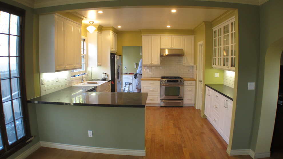 Counter Height Stools Kitchen Craftsman with Belgian Moon Caesarstone Crown Molding Green Kitchen Ikea Cabinets
