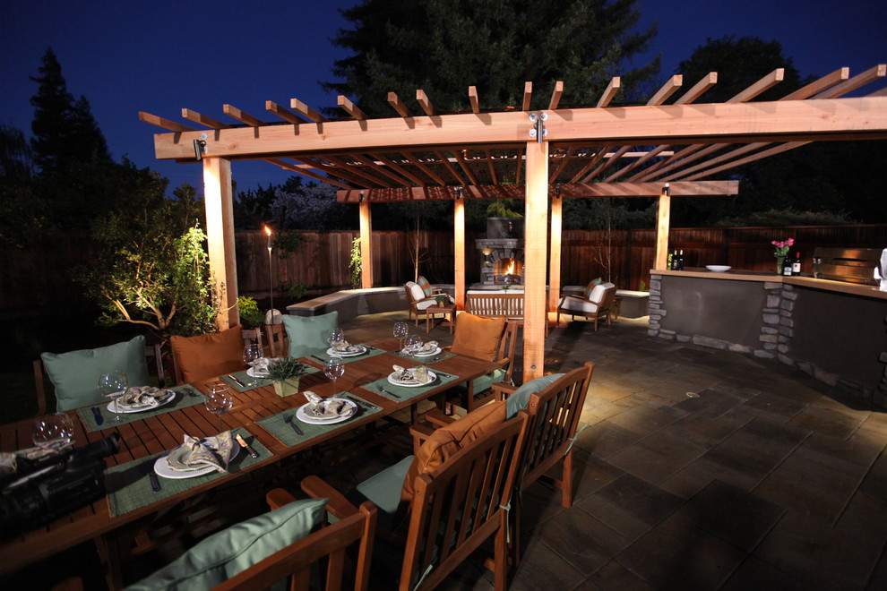 Coyote Grills Patio Traditional with Belgard Patio Slab Pavers in Tuscana Col Eldorado Outdoors Bbq Cabinets And