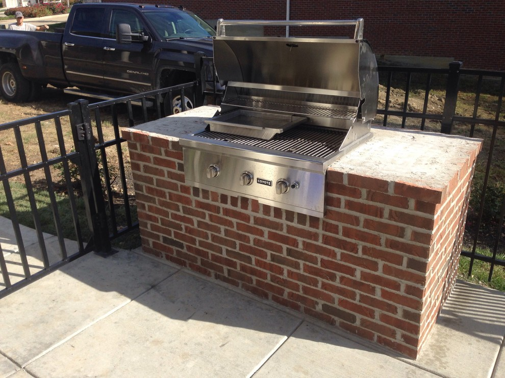 coyote grills Spaces with built in grill Coyote grill grill outdoor grill tile top
