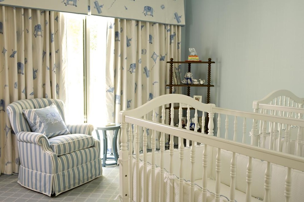 Crib Sets for Boys Nursery Transitional with Babys Room Corner Shelves Cribs Curtains Drapes Grey Wall Ideas for Baby