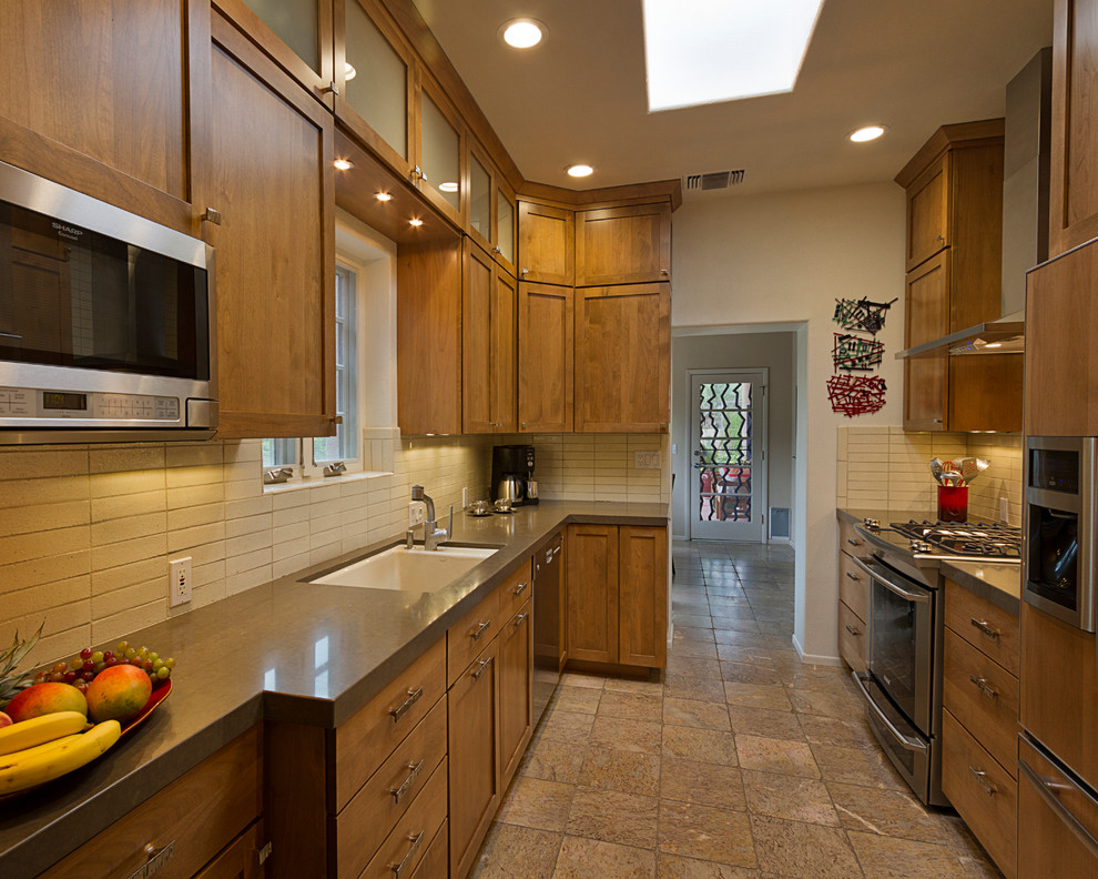 crosley turntable review Kitchen Transitional with appliances backsplash cabinets countertop lighting storage