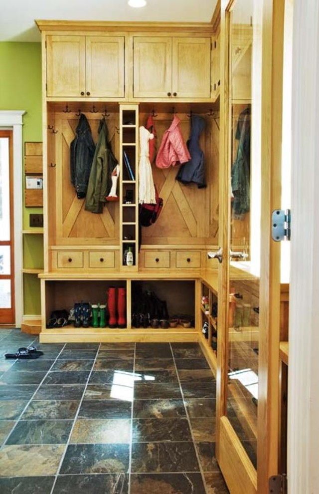 Cubby Storage Unit Entry Contemporary with Coat Hooks Coat Racks Entry Way Excess Storage Family Storage Floor Tile