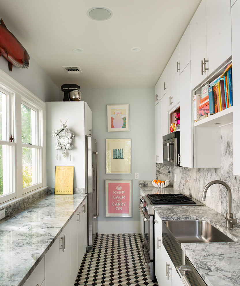 Cuckoo Clock Kitchen Eclectic with None