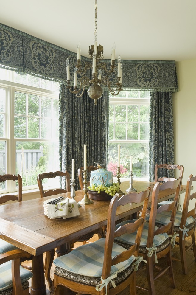 Curtain Valances Dining Room Rustic with Candlesticks Centerpiece Chandelier Curtains Drapes Rustic Seat Cushions Valance Window Treatments Wood
