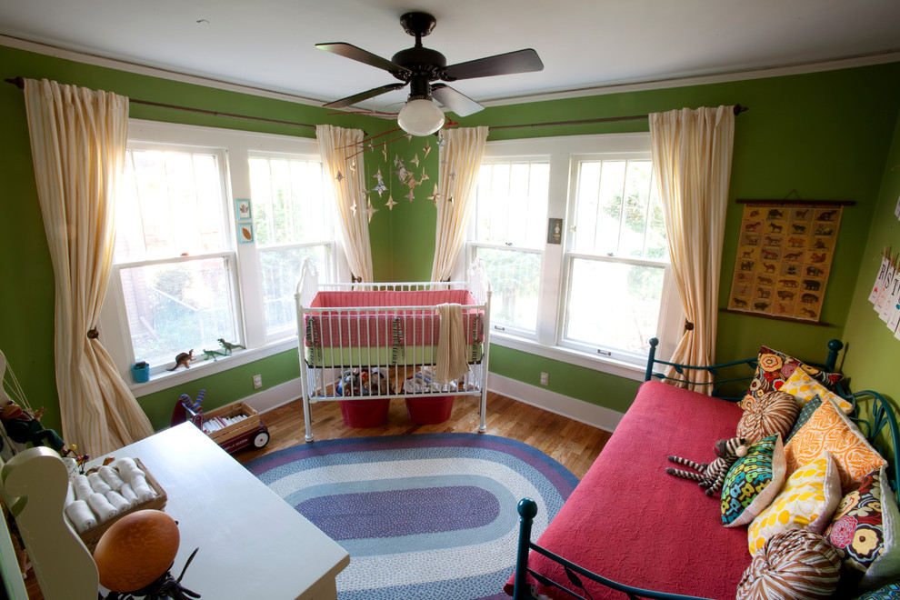 Daybed Bedding Nursery Eclectic with Baseboards Bold Colors Bold Graphics Boy Bright Bright Colors Ceiling Fan Ceiling