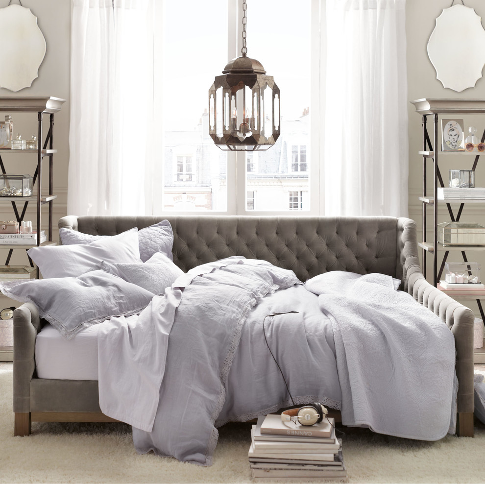 daybed couch Bedroom Traditional with none