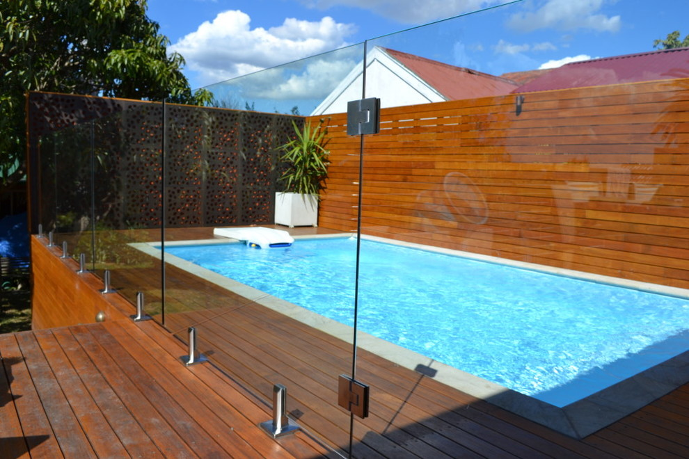 Daybeds Pool Contemporary with Glass Fencing Glass Patio Glass Pool Fence Glass Railing
