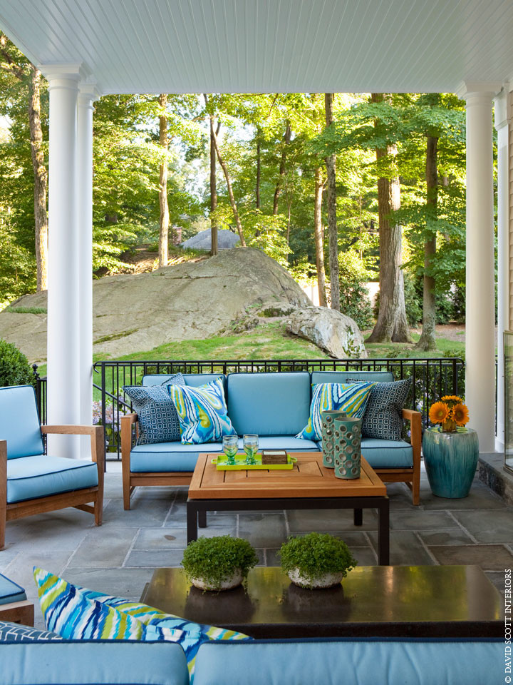 Deep Seated Sofa Patio Traditional with Categorypatiostyletraditionallocationnew York 1