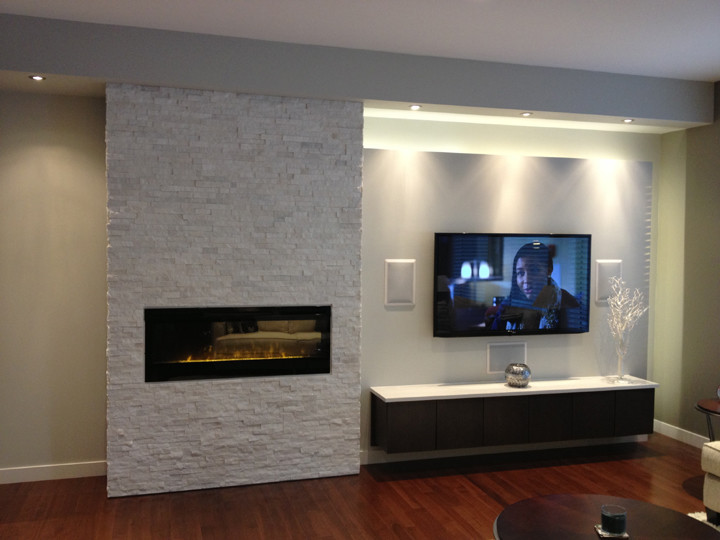 dimplex electric fireplace Living Room Modern with Dimplex Electric fireplaces fireplace accessories Fireplaces Stoves polar white Polar white blf50