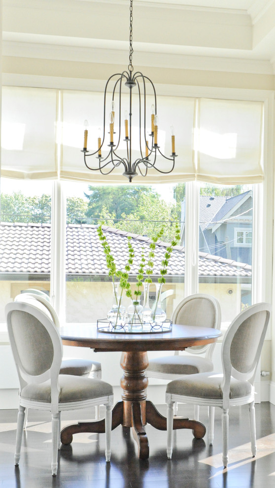 Dinette Tables Dining Room Traditional with Antique Pedstal Table Centerpiece Crown Molding Dining Table Iron Chandelier Lantern Louis