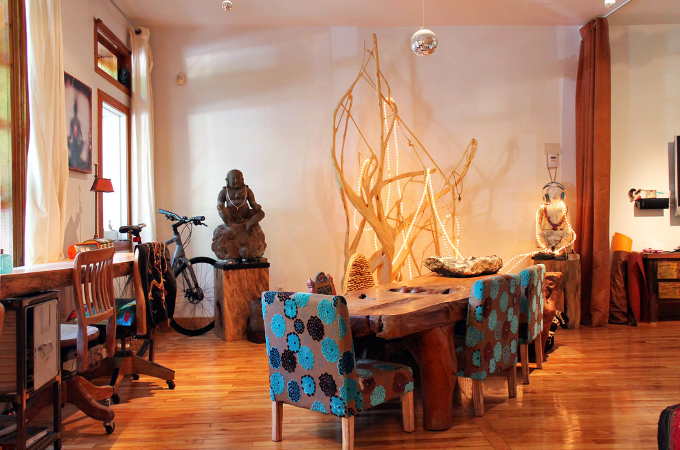 Dining Table Centerpieces Dining Room Eclectic with Asian Bedroom Bike Buddha Contemporary Desks Dining Table Driftwood Eclectic Global Home