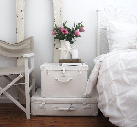 directors chair covers Bedroom Shabby chic with cottage