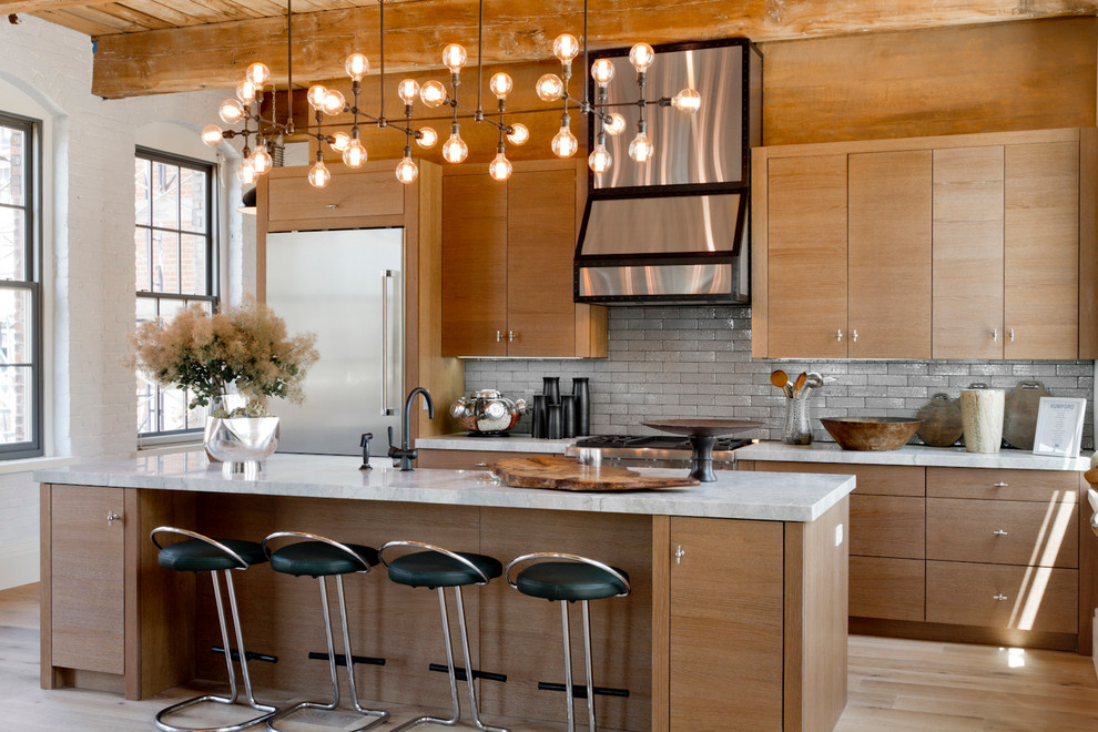 Discount Light Fixtures Kitchen Contemporary with Black Bar Stools Chandelier Contemporary Island Lighting Exposed Beams White Countertop White